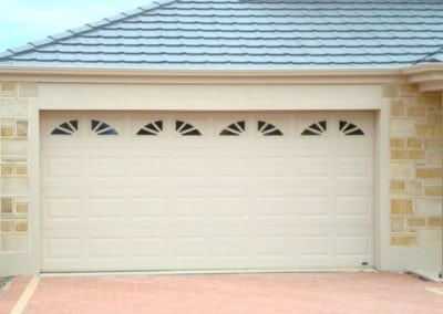 Colorbond garage door