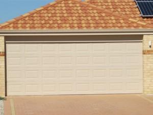 Colorbond garage door