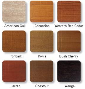 decowood garage door colours