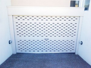 Perforated Roller Door