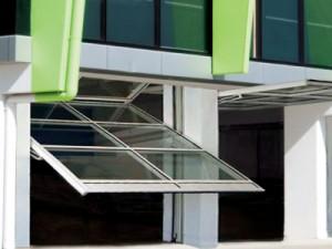 SC2000 Hingeway Counterweight Balanced Door