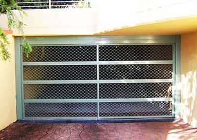 Aluminium Security Mesh Garage Door